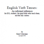 English Verb Tenses