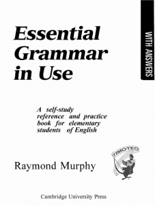 essential grammar in use 1st edition الاصدار الأول