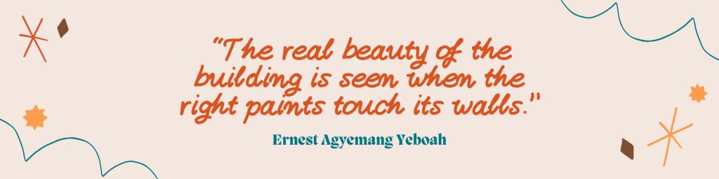 اقتباس إرنست أجيمانج يبواه