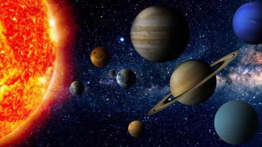 الكواكب و الابراج بالانجليزي