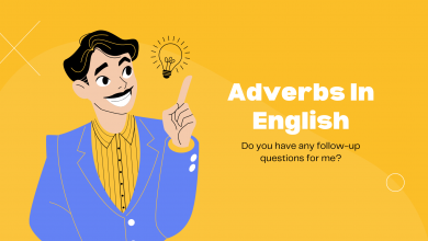 كلمات adverb